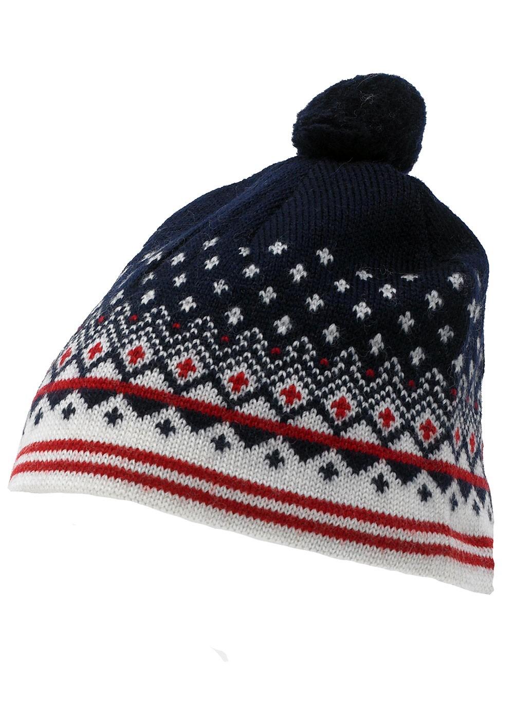 Traditional Fleece Lined Hat Wool Norwegian Sweaters