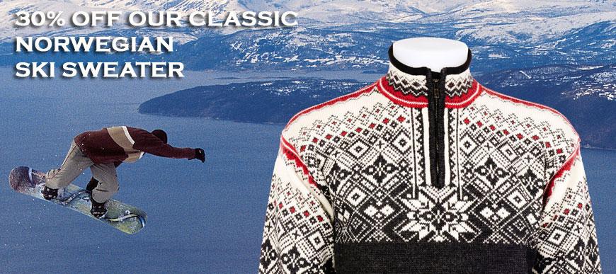 Norwegian Sweater Sale