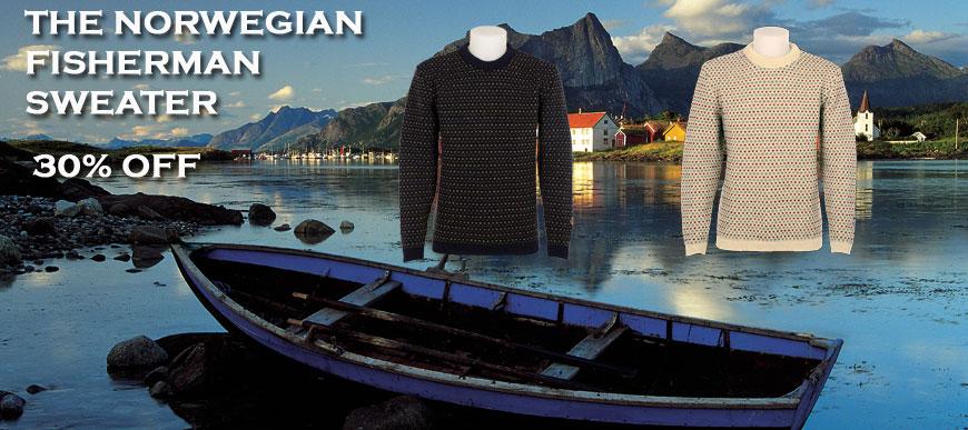 Norwegian Fisherman Sweater