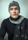 Multi Merino Wool Hat-Headband-Neck Warmer